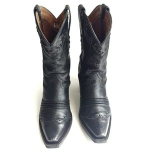Ariat Dixie Cowboy Boots Black 6.5